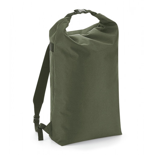 Bag base Icon Roll-Top Backpack Olive Green