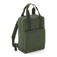 Bag base Twin Handle Backpack Olive Green