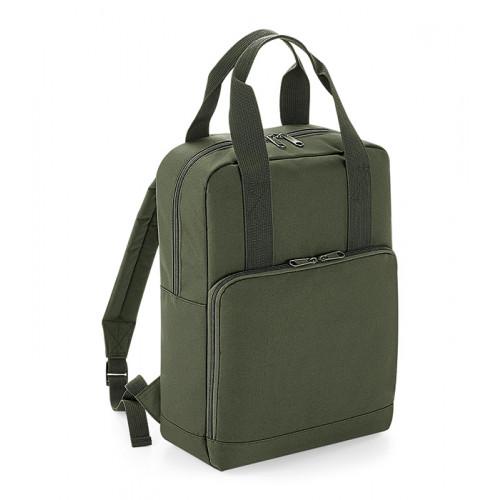 Bag base Twin Handle Backpack Olive Green