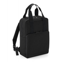 Bag base Twin Handle Backpack Black