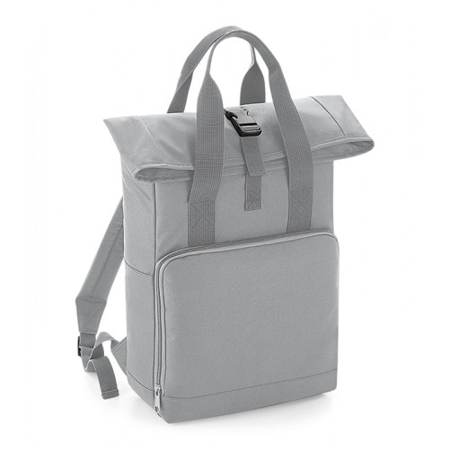 Bag base Twin Handle Roll-Top Backpack Light Grey