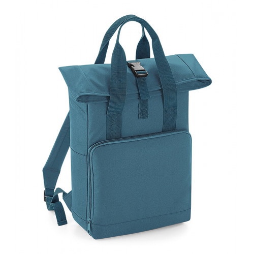 Bag base Twin Handle Roll-Top Backpack Airforce Blue