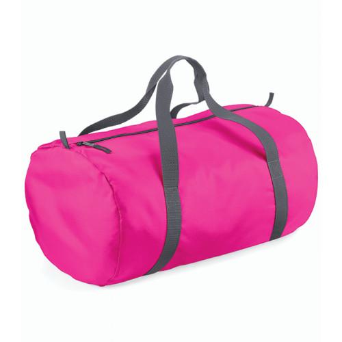 Bag base Packaway Barrel Bag Fuchsia