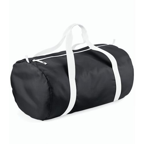Bag base Packaway Barrel Bag Black/White
