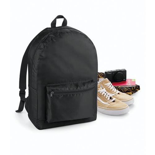 Bag base Packaway Backpack Black/Black