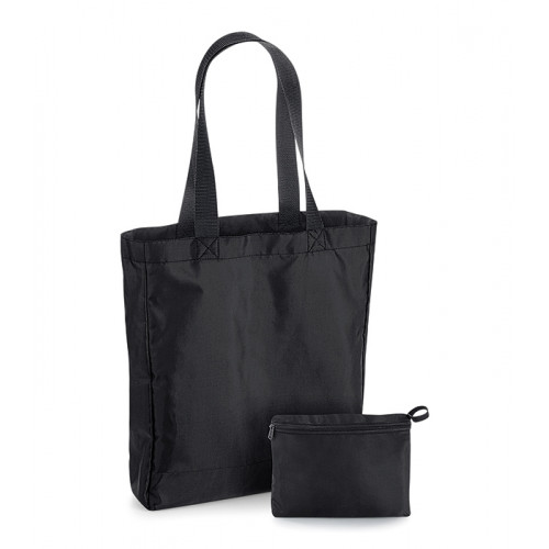 Bag base Packaway Tote Bag Black/Black