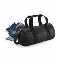 Bag base Duo Knit Barrel Bag Grey/Black