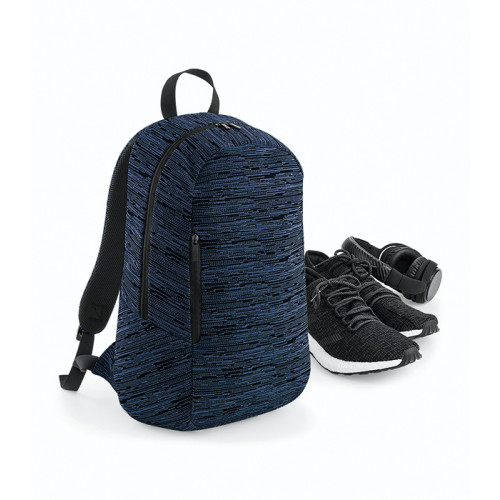 Bag base Duo Knit Backpack Navy/Black
