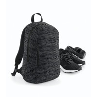 Bag base Duo Knit Backpack Grey/Black