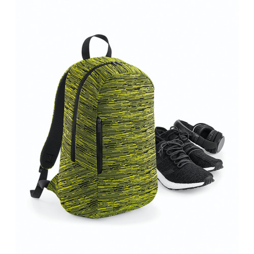 Bag base Duo Knit Backpack Electric Yellow/Black