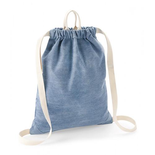 Bag base Denim Gymsack Denim Blue