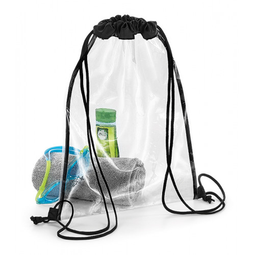 Bag base Clear Gymsack Clear/Black