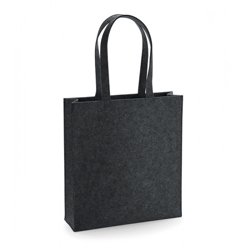 Bag base Felt Tote Bag Charcoal Melange