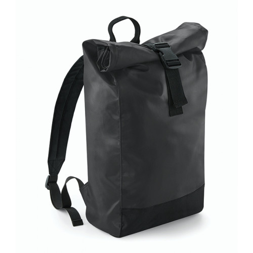 Bag base Tarp Roll-Top Backpack Black