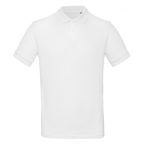 B and C Collection B&C Inspire Polo Men White