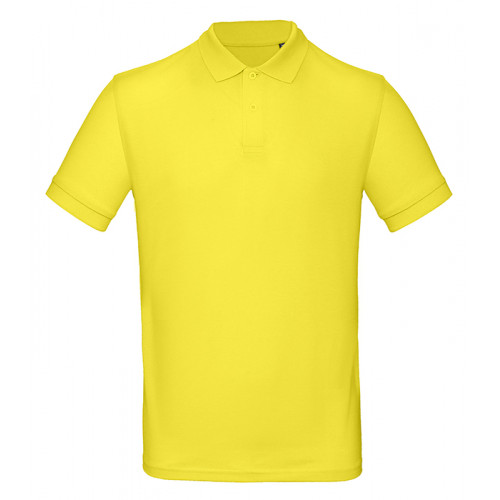B and C Collection B&C Inspire Polo Men Solar Yellow