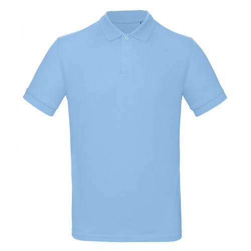 B and C Collection B&C Inspire Polo Men Sky Blue
