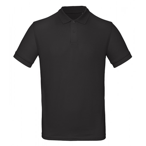 B and C Collection B&C Inspire Polo Men Black