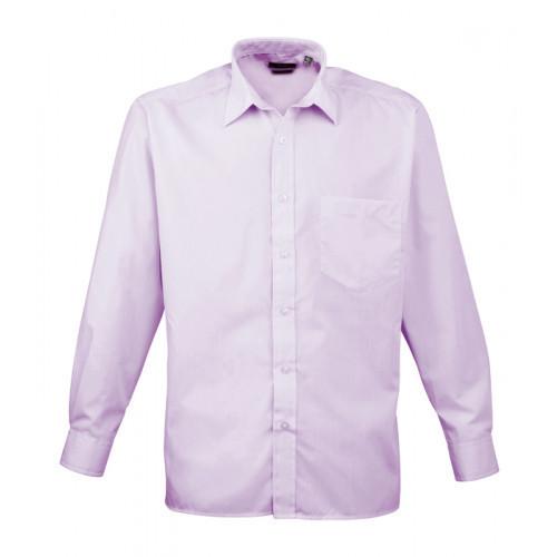 Premier Long Sleeve Poplin Shirt Lilac