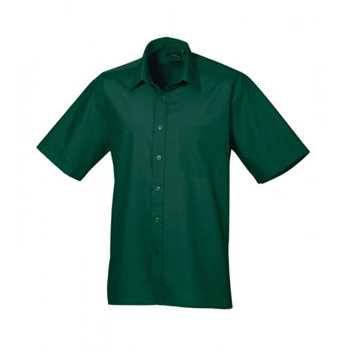 Premier Short Sleeve Poplin Shirt Bottle