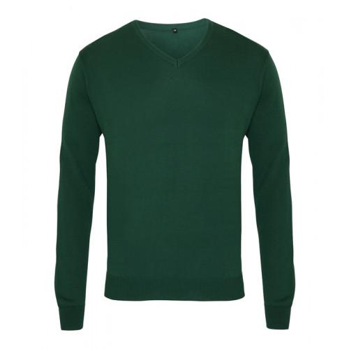 Premier Men´s V-neck Knitted Sweater Bottle