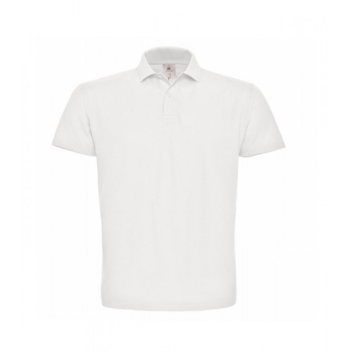 B and C Collection ID.001 Polo White