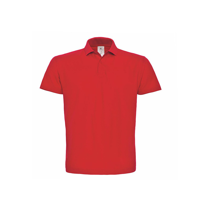 B and C Collection ID.001 Polo RED