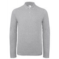 B and C Collection B&C ID.001 LSL Heather Grey