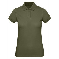 B and C Collection B&C Inspire Polo Women Urban Khaki