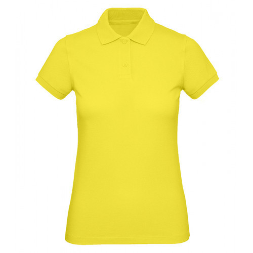 B and C Collection B&C Inspire Polo Women Solar Yellow