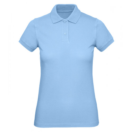 B and C Collection B&C Inspire Polo Women Sky Blue
