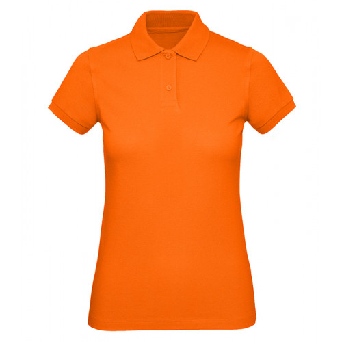 B and C Collection B&C Inspire Polo Women Orange