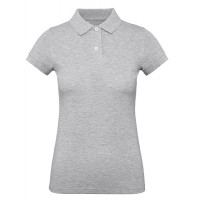 B and C Collection B&C Inspire Polo Women Heather Grey