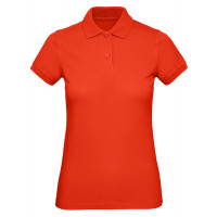 B and C Collection B&C Inspire Polo Women Fire Red