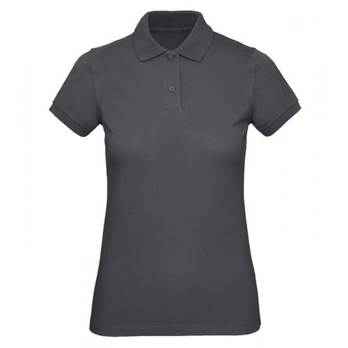 B and C Collection B&C Inspire Polo Women Dark Grey