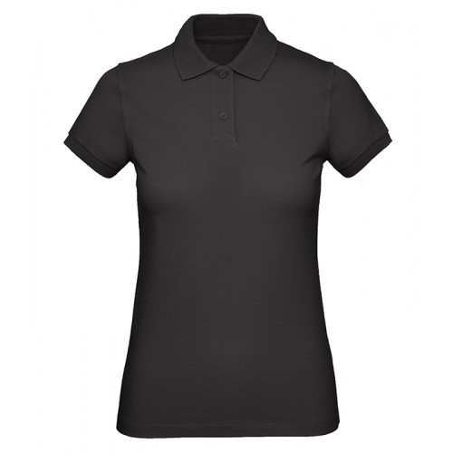 B and C Collection B&C Inspire Polo Women Black