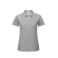 B and C Collection ID.001 Lady Polo Heather Grey