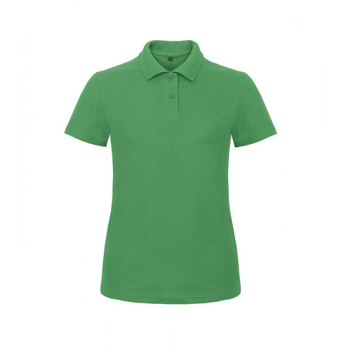 B and C Collection ID.001 Lady Polo Kelly Green