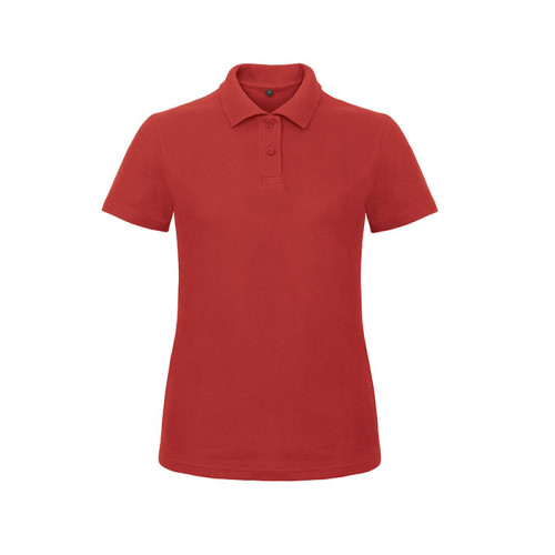 B and C Collection ID.001 Lady Polo Red