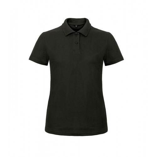 B and C Collection ID.001 Lady Polo Black