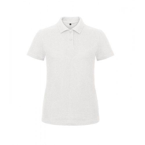 B and C Collection ID.001 Lady Polo White
