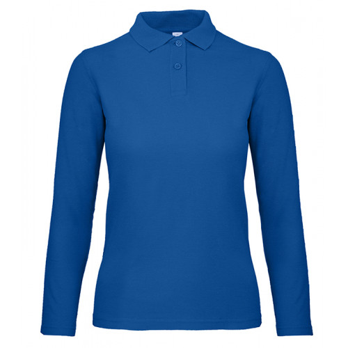B and C Collection B&C ID.001 LSL Women Royal Blue
