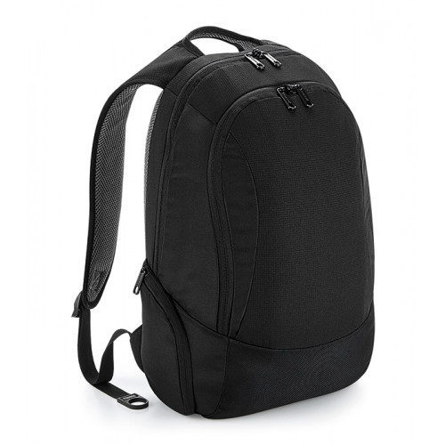 Quadra Vessel™ Slimline Laptop Backpack Black