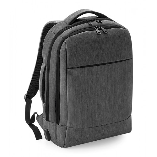Quadra Q-Tech Charge Convertible Backpack Granite Marl