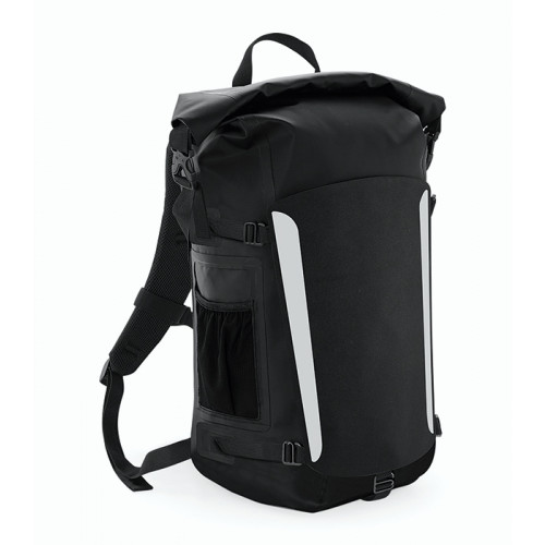 Quadra SLX 25 Litre Waterproof Backpack Black/Black