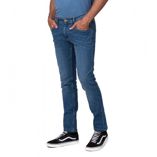 So Denim Leo´s Straight Jeans Mid Blue Wash