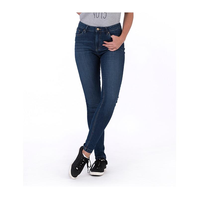 So Denim Lara´s Skinny Jeans Dark Blue Wash