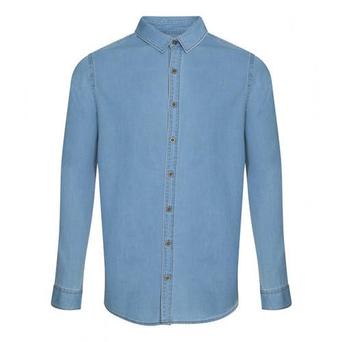 So Denim Jack Denim Shirt Light Blue