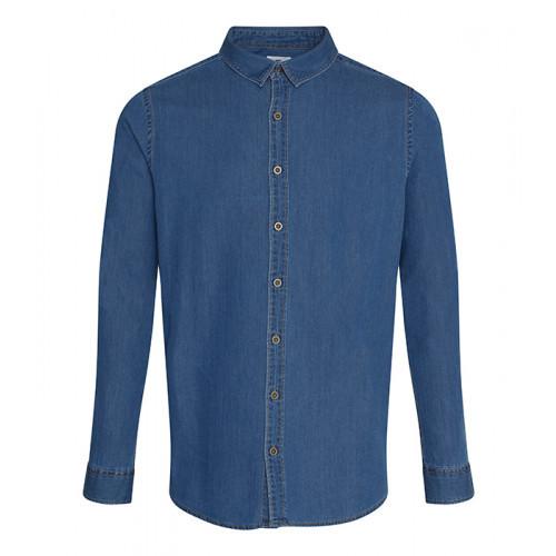 So Denim Jack Denim Shirt Dark Blue