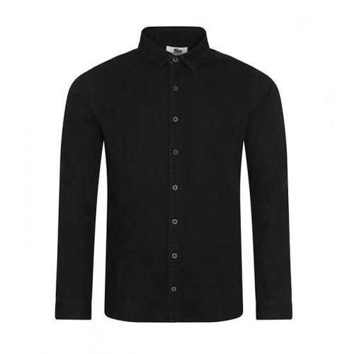 So Denim Jack Denim Shirt Black